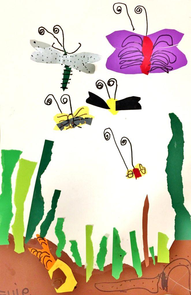 Bug art lesson